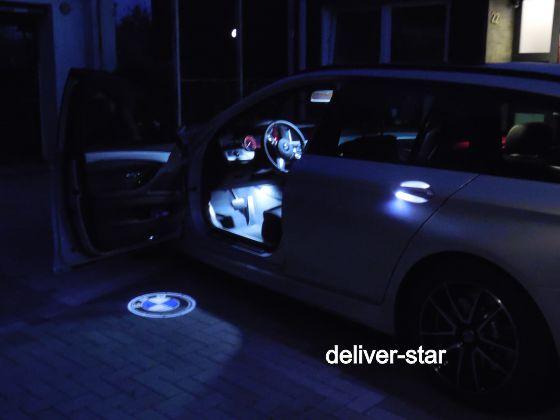 led smd t rbeleuchtung laser t r projektor logo passend f r bmw 3er f30 f31 ebay. Black Bedroom Furniture Sets. Home Design Ideas